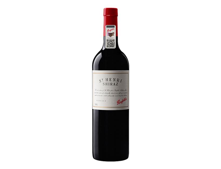 奔富 圣亨利西拉红葡萄酒