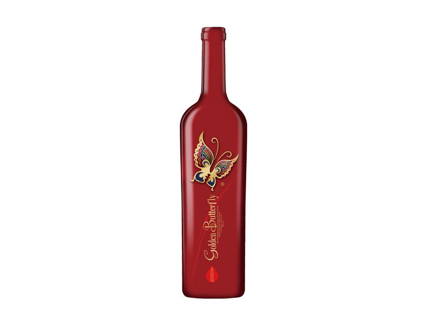 金蝴蝶干红葡萄酒(红模)
